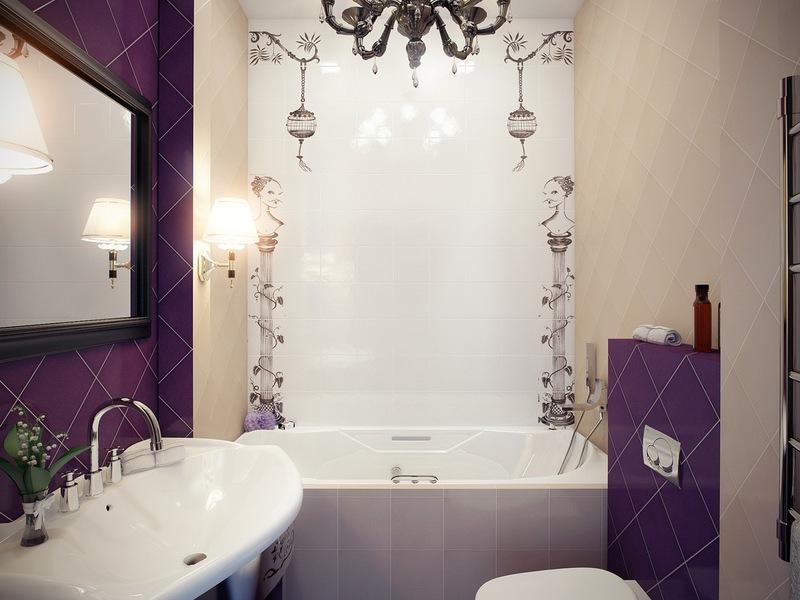 Ремонт маленькой ванной дизайн