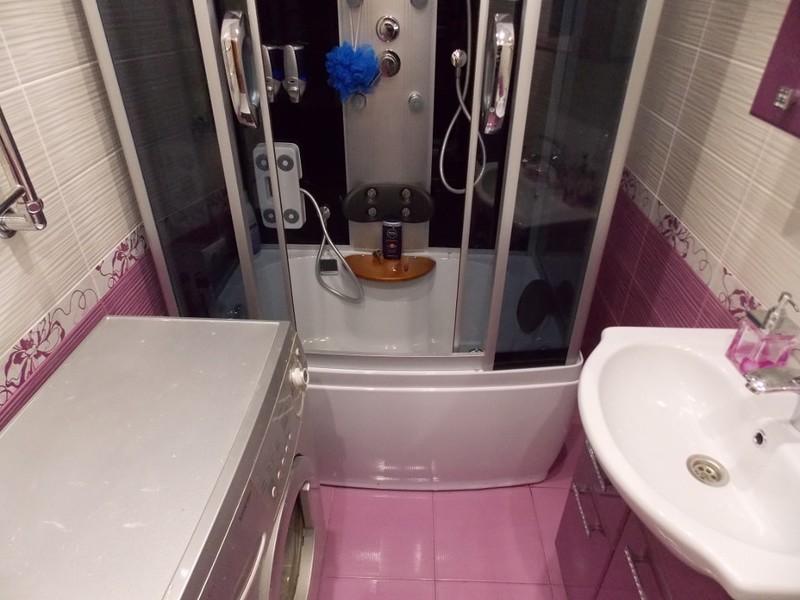 Ремонт в небольшой ванной фото