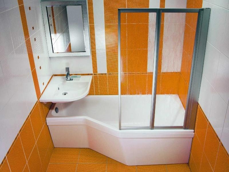 Ремонт в небольшой ванной дизайн