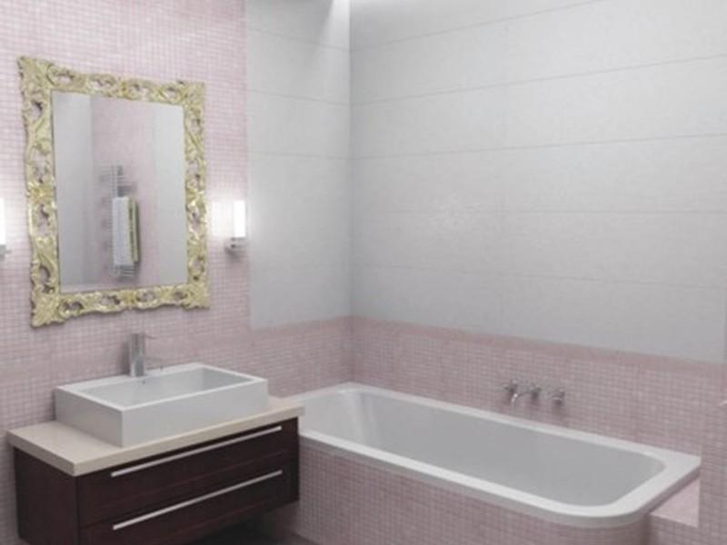 Ремонт в маленькой ванной дизайн