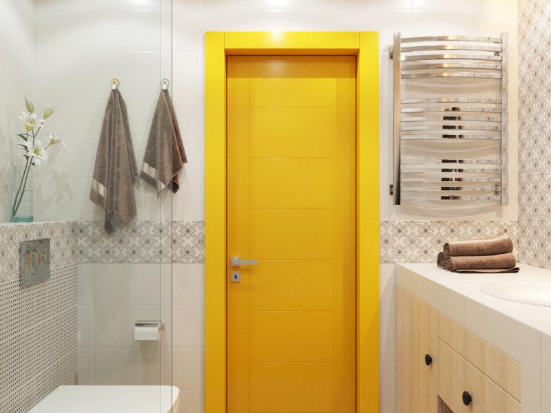 Ремонт в маленькой ванной классичесский стиль