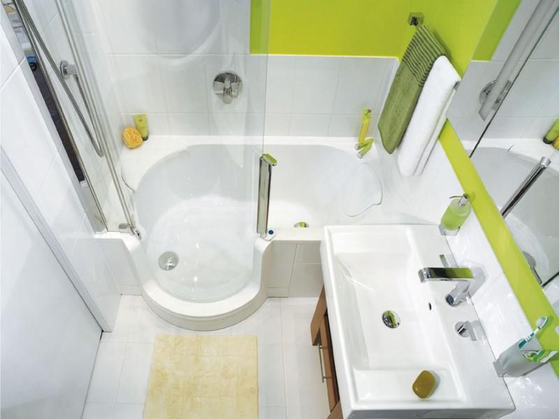 Ремонт маленькой ванной комнаты проект