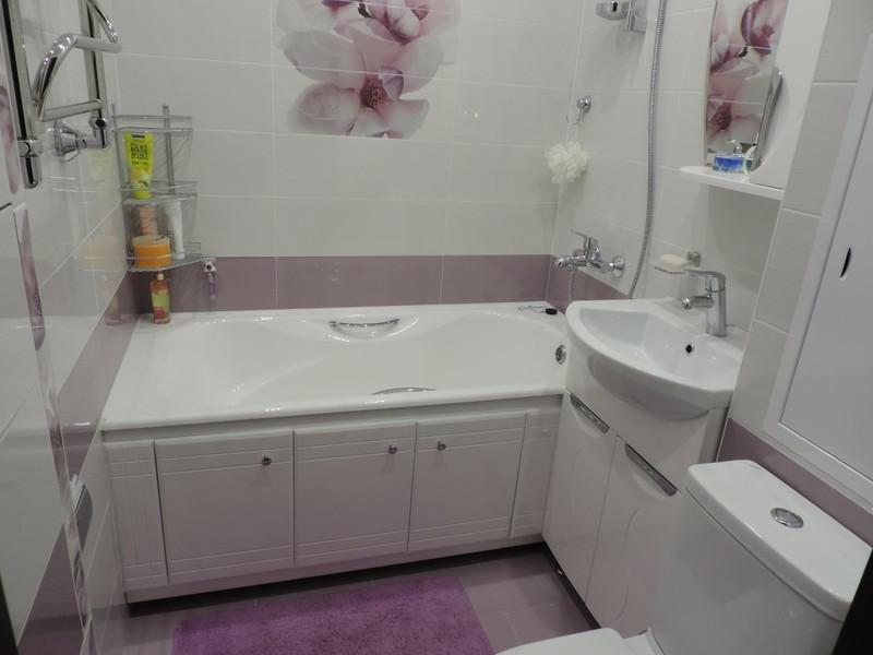 Маленькая ванна ремонт идеи