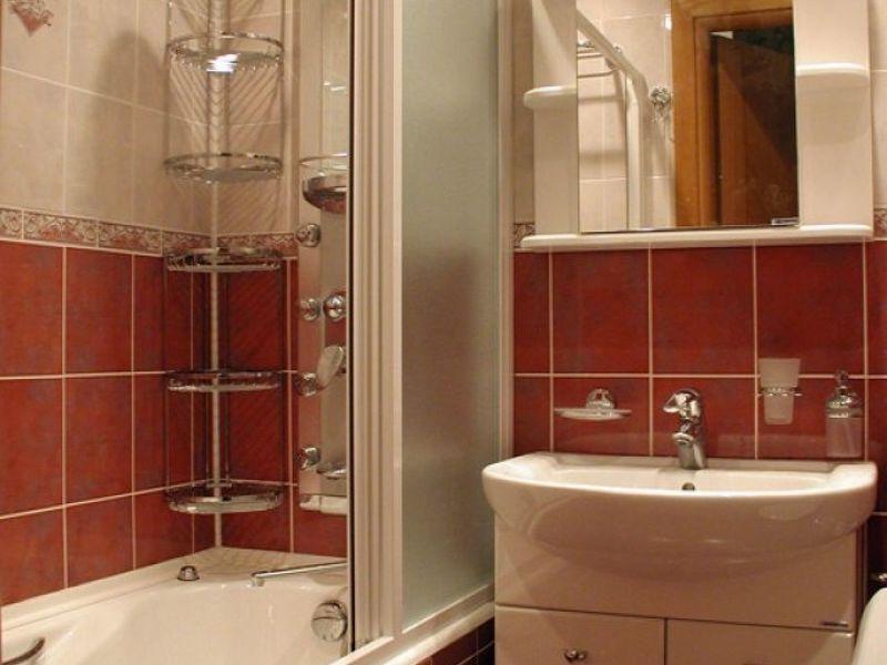 Маленькая ванна ремонт фото