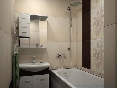 Маленькая ванная комната ремонт