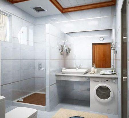 Ремонт узкой ванной комнаты