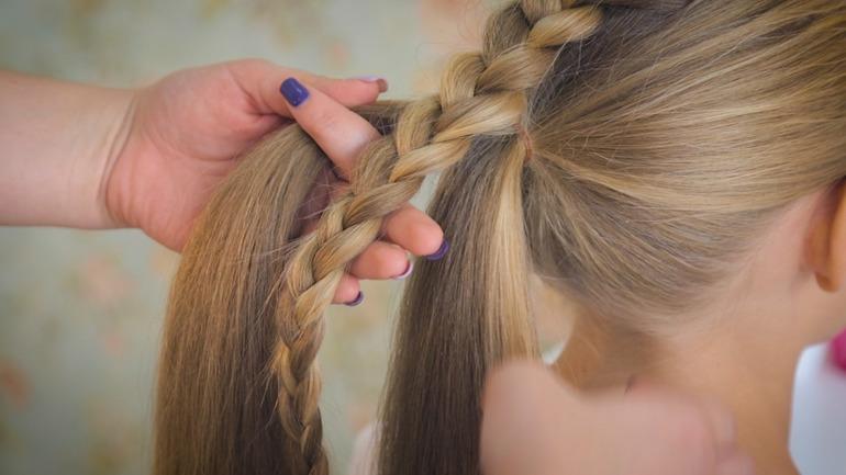 Различные техники и способы красиво заплести косу девочке