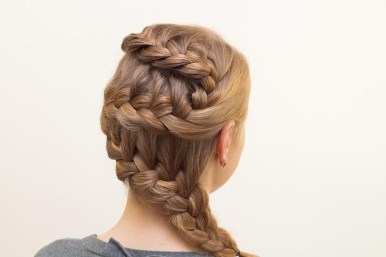 Как заплести косу девочке: классические и необычные техники