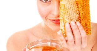 Приготовление маски из меда