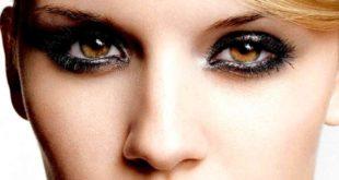 Популярный дымчатый стиль макияжа
