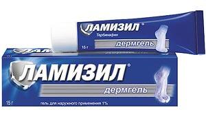 Ламизил - от грибка ногтей: лечебные свойства, формы выпуска