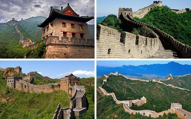 Великая китайская стена летом