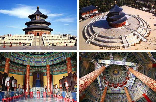 Храм Неба на юге Пекина