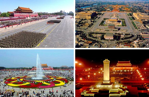 Тяньаньмэнь – «Площадь небесного спокойствия» в Пекине