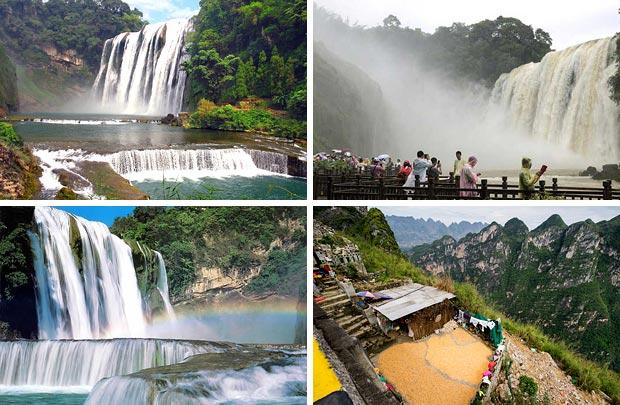 Хуан Гошу – водопад в Гуйчжоу