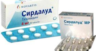 Упаковка таблеток Сирдалуд - Тизанидин