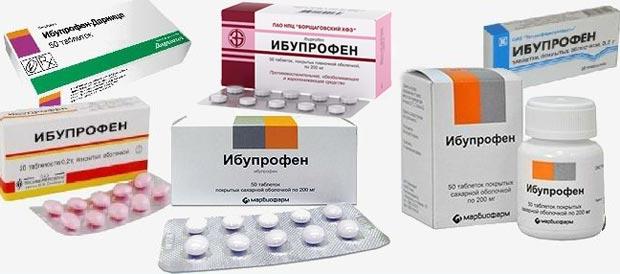Ибупрофен - таблетки, суспензия, гель