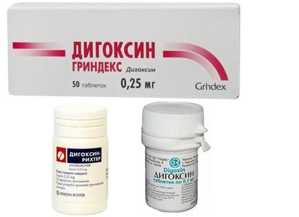 Таблетки Дигоксин Гриндекс