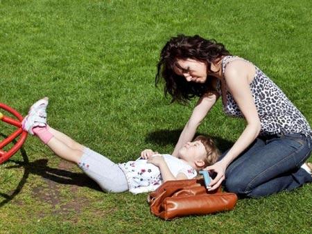 Приступ эпилепсии у ребенка