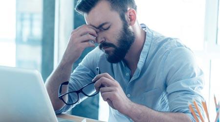 Признаки стресса у человека