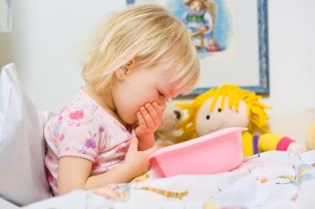 Годовалого ребенка рвет без температуры что делать