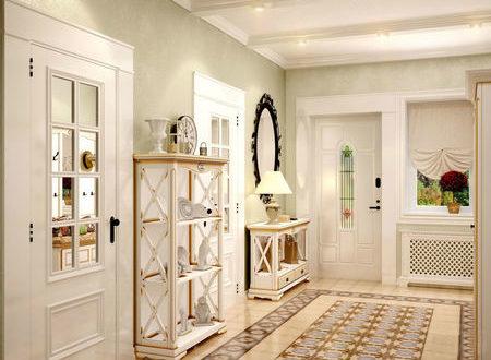 Прихожие в стиле прованс 63 фото дизайн интерьера и мебель в коридоре в духе Франции ремонт своими руками в прованской тематике