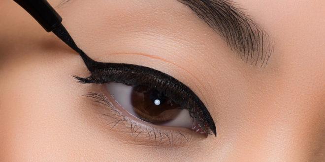 Как делать стрелки на глазах для начинающих