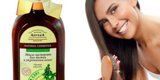 Чем полезно касторовое масло для волос